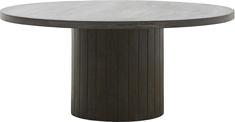 På billedet ser du variationen Sofabord, Pillar fra brandet House Doctor i en størrelse D: 100 cm. H: 42 cm. i farven Sort