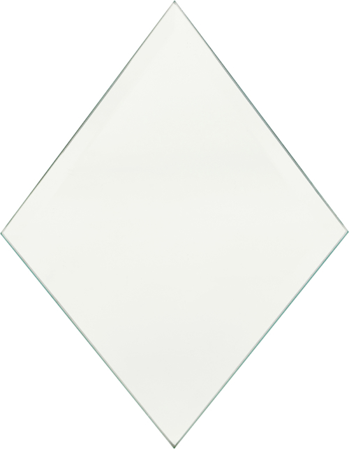 På billedet ser du variationen Spejl, Diamond fra brandet House Doctor i en størrelse H: 22 cm. B: 16 cm. i farven Klar