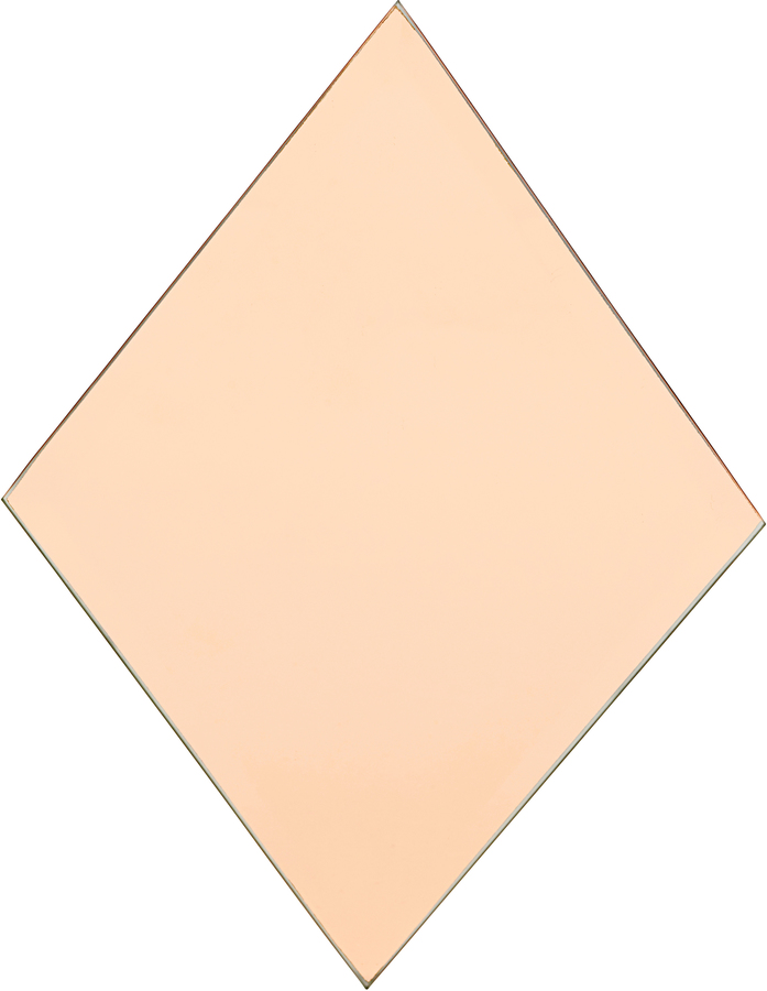 På billedet ser du variationen Spejl, Diamond fra brandet House Doctor i en størrelse H: 22 cm. B: 16 cm. i farven Rosa