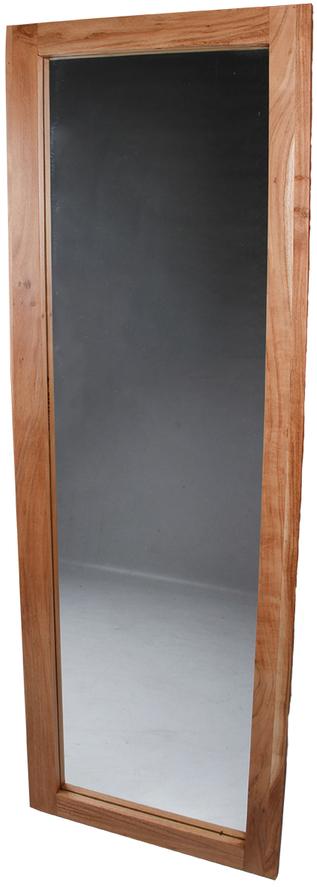 På billedet ser du variationen Spejl, Fox fra brandet Preform i en størrelse H: 170 cm. B: 50 cm. L: 3 cm. i farven Natur
