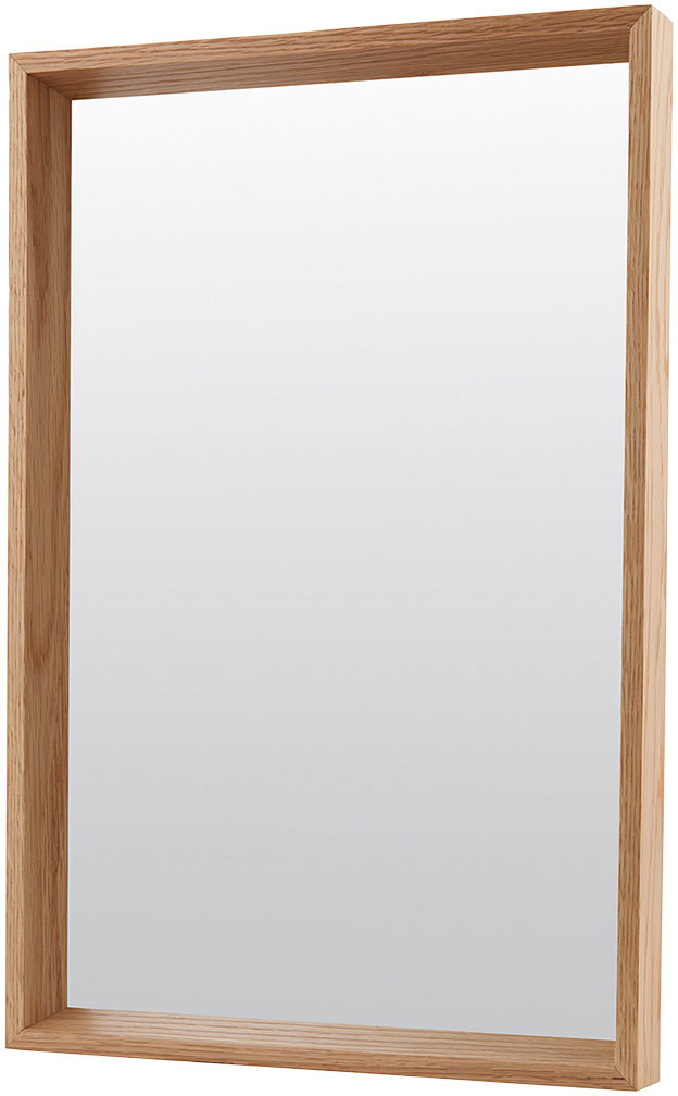 På billedet ser du variationen Oak, Spejl fra brandet House Doctor i en størrelse 40 x 60 cm. i farven Oak