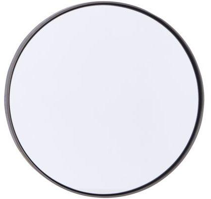På billedet ser du variationen Refleksion, Spejl, Round fra brandet House Doctor i en størrelse D: 30 cm. i farven Sort