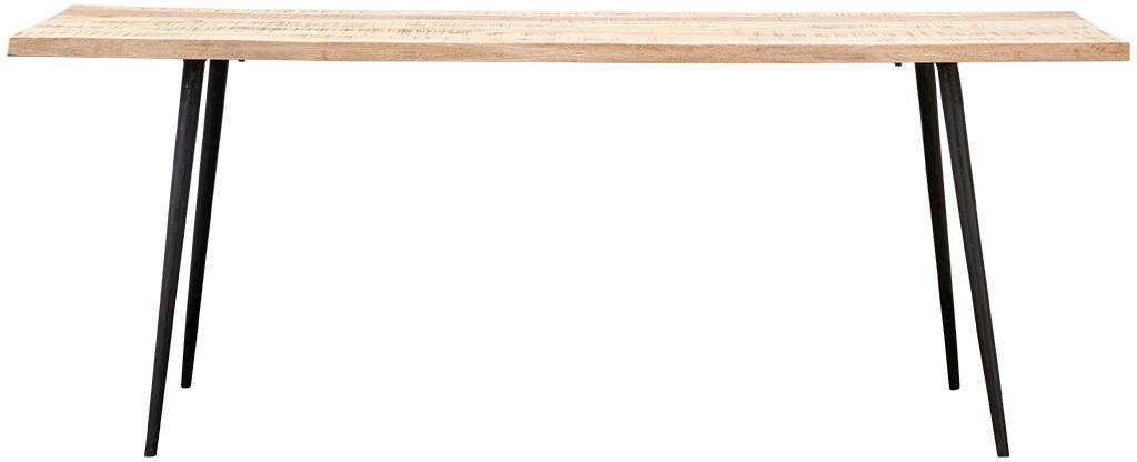 På billedet ser du variationen Club, Spisebord, Aflang fra brandet House Doctor i en størrelse 80 x 200 cm. x H: 76 cm. i farven Natur