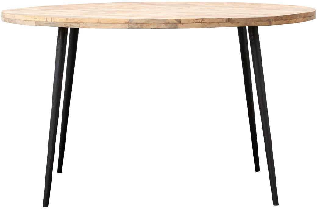På billedet ser du variationen Club, Spisebord, Rund fra brandet House Doctor i en størrelse D: 130 cm. x H: 76 cm. i farven Natur