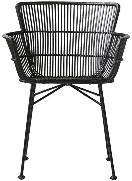 På billedet ser du variationen Coon, Spisebordsstol fra brandet House Doctor i en størrelse 62 x 60.5 cm. x H: 80 cm. i farven Sort