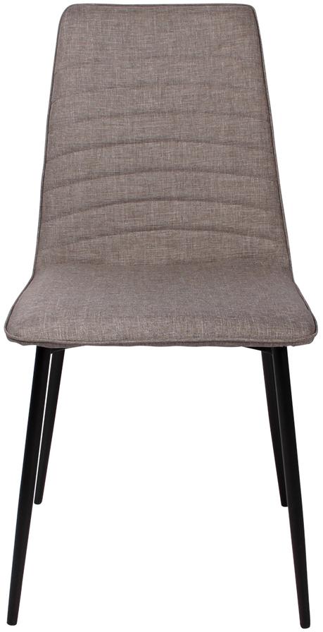 På billedet ser du variationen Spisebordsstol, Lisa fra brandet Preform i en størrelse H: 89 cm. B: 45 cm. L: 57 cm. i farven Sort/Lysegrå