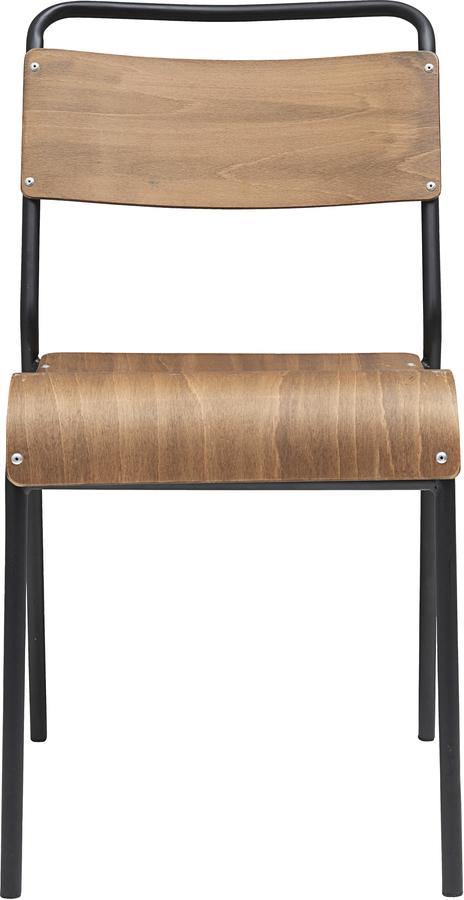 På billedet ser du variationen Spisebordstol, Original fra brandet House Doctor i en størrelse B: 41 cm. L: 41,5 cm. i farven Brun