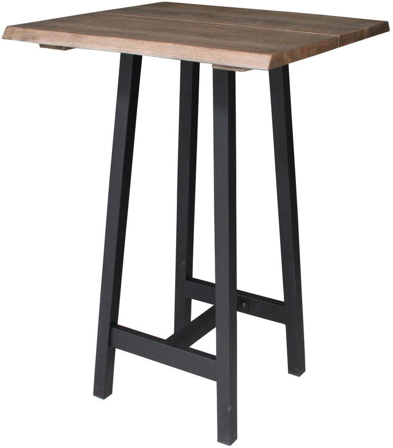 På billedet ser du variationen Stel til barbord, Bar base fra brandet Preform i en størrelse H: 100 cm. B: 85 cm. L: 45 cm. i farven Sort