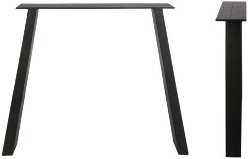 På billedet ser du variationen Stel til plankeborde, Slanting base fra brandet Preform i en størrelse H: 71 cm. B: 80 cm. L: 15 cm. i farven Sort