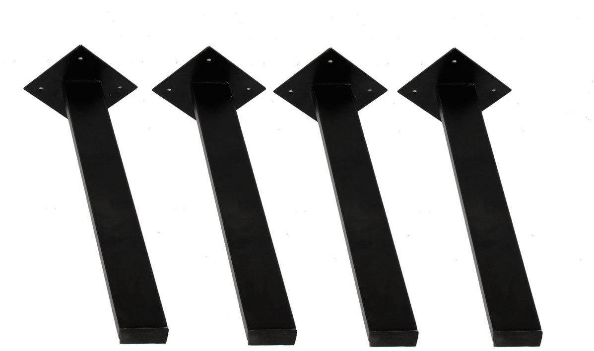 På billedet ser du variationen Stel til sofabord, B4 fra brandet Preform i en størrelse H: 44 cm. B: 3 cm. L: 6 cm. i farven Sort