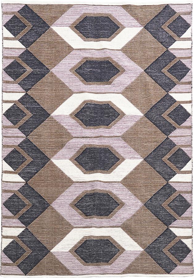 På billedet ser du variationen Tæppe, Art fra brandet House Doctor i en størrelse B: 160 cm. L: 230 cm. i farven Base/Grå
