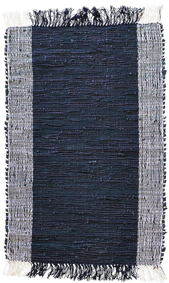 På billedet ser du variationen Tæppe, Cindi fra brandet House Doctor i en størrelse 60 x 90 cm. i farven Sort/Natural