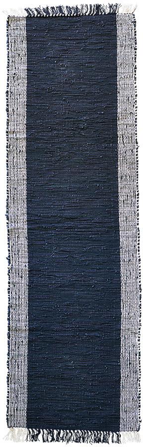 På billedet ser du variationen fra brandet House Doctor i en størrelse 70 x 240 cm. i farven Sort/Natural