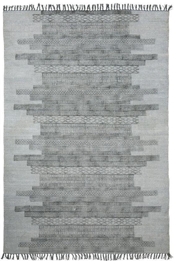 På billedet ser du variationen Tæppe, Karma fra brandet House Doctor i en størrelse 160 x 230 cm. i farven Grå