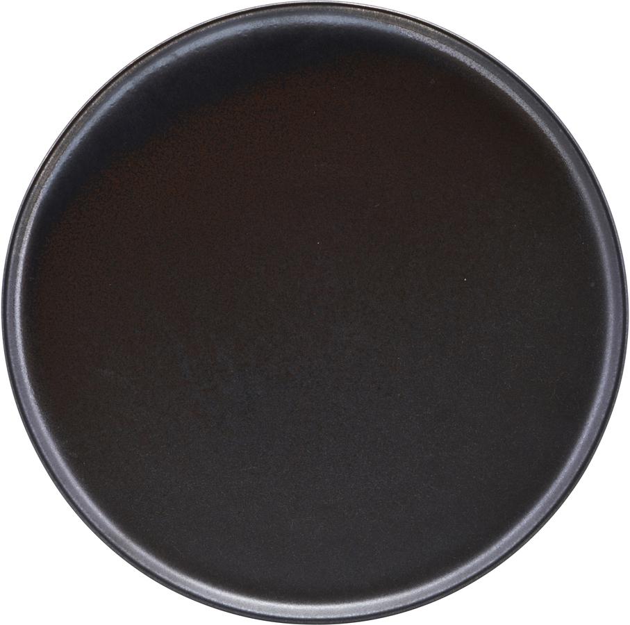 På billedet ser du variationen Tallerken, Aton fra brandet House Doctor i en størrelse D: 25,5 cm. i farven Sort
