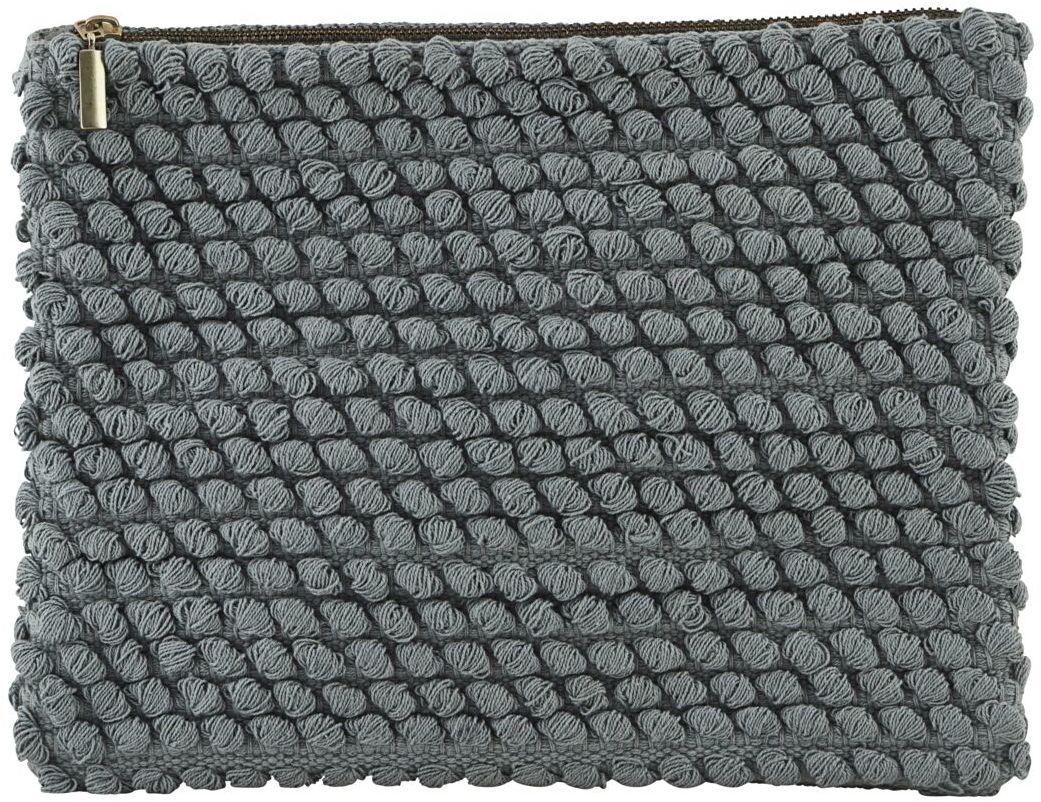 På billedet ser du variationen Toilet taske, Tofted Mix fra brandet House Doctor i en størrelse B: 31 cm. L: 23 cm. i farven Grå