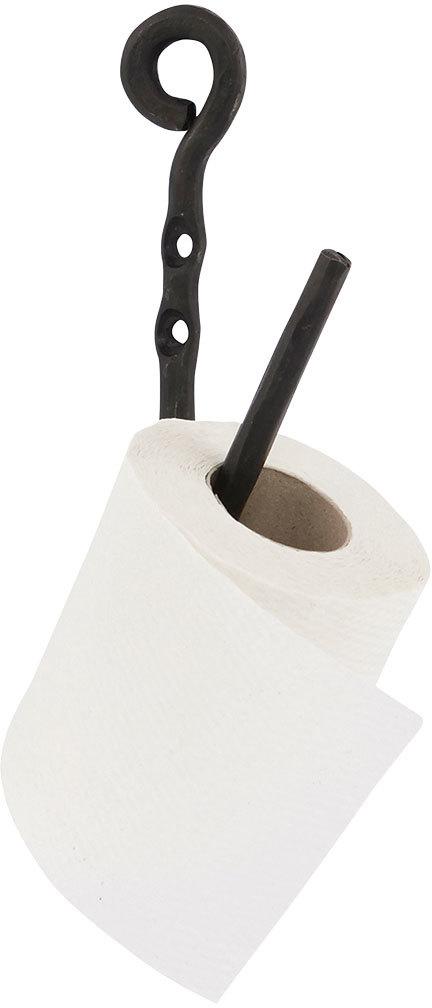 På billedet ser du variationen Cast, Toiletpapirholder fra brandet House Doctor i en størrelse H: 22 cm. i farven Sort