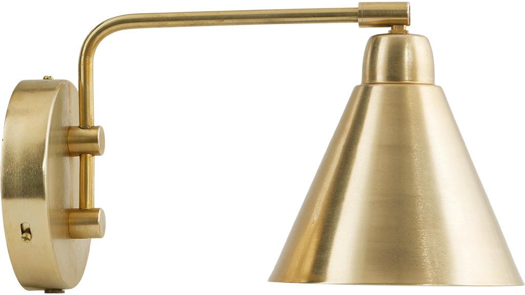 På billedet ser du variationen Game, Væglampe fra brandet House Doctor i en størrelse D: 20 cm. i farven Messing