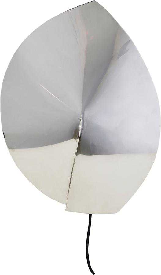 På billedet ser du variationen Væglampe, Leaf fra brandet House Doctor i en størrelse D: 23,8 cm. H: 32 cm. i farven Sølv