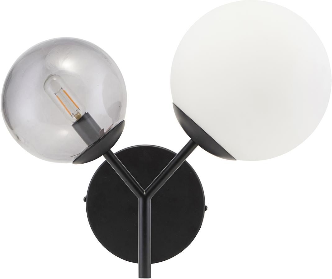 På billedet ser du variationen Væglampe, Twice fra brandet House Doctor i en størrelse L: 17 cm. i farven Sort