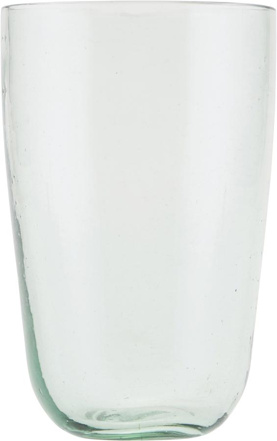 På billedet ser du variationen Vandglas, Votiv fra brandet House Doctor i en størrelse D: 8,5 cm. H: 13 cm. i farven Glas