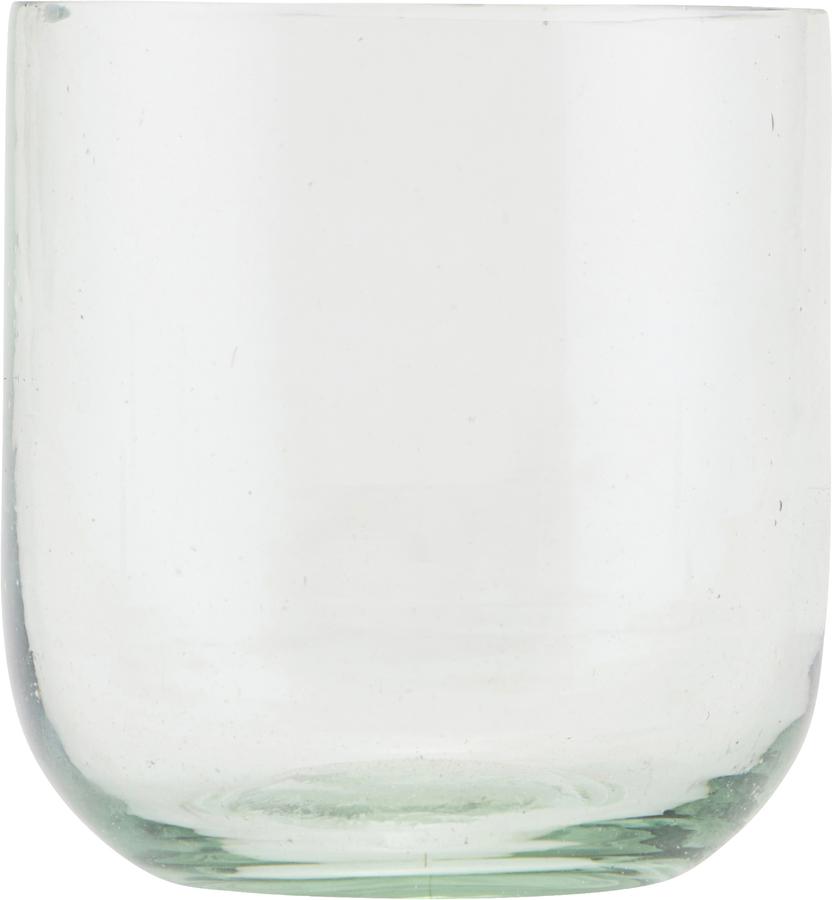 På billedet ser du variationen Vandglas, Votiv fra brandet House Doctor i en størrelse D: 7,5 cm. H: 8 cm. i farven Glas