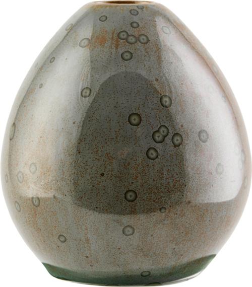 På billedet ser du variationen Vase, Baby fra brandet House Doctor i en størrelse D: 9 cm. H: 10 cm. i farven Brun