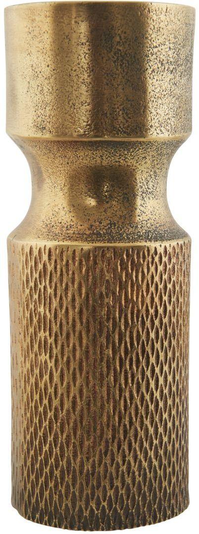 På billedet ser du variationen Cast, Vase fra brandet House Doctor i en størrelse D: 8 cm. x H: 20 cm. i farven Messing