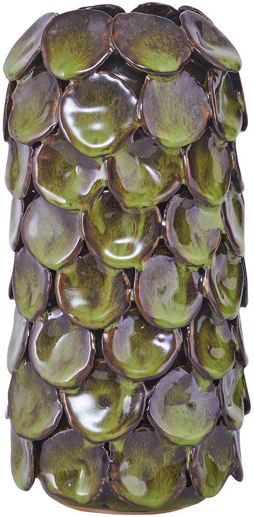 På billedet ser du variationen Dot, Vase, Farve fra brandet House Doctor i en størrelse D: 10 cm. x H: 19,2 cm. i farven Grøn