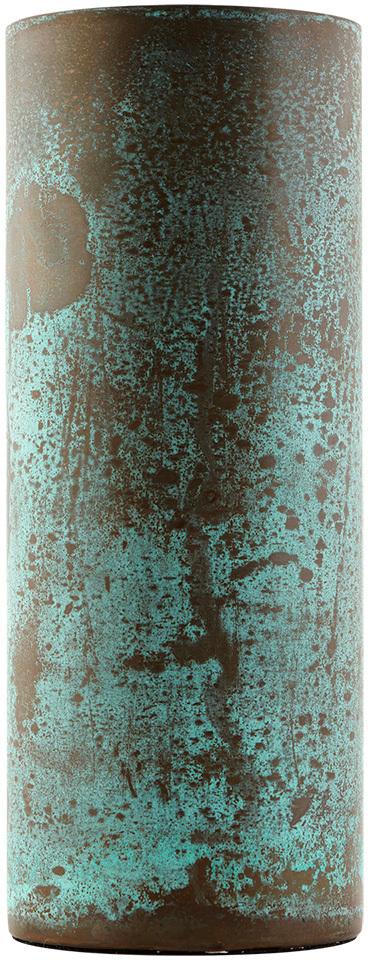 På billedet ser du variationen Effect, Vase, Lang fra brandet House Doctor i en størrelse D: 8 cm. x H: 21 cm. i farven Grøn