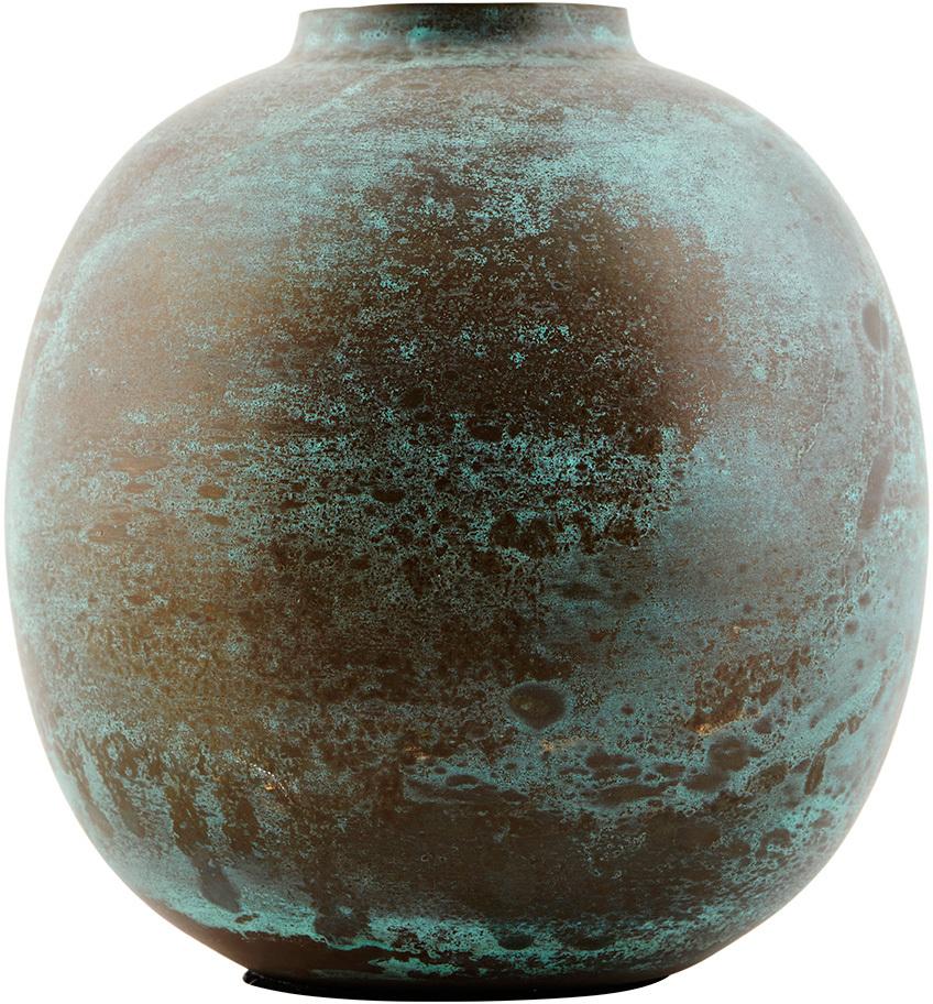 På billedet ser du variationen Effect, Vase, Rundt fra brandet House Doctor i en størrelse D: 13 cm. x H: 14 cm. i farven Grøn