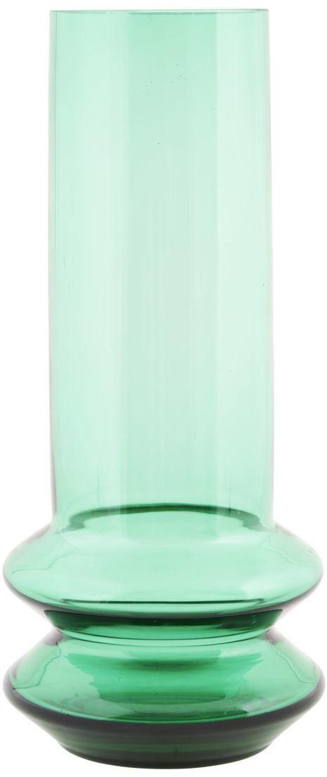 På billedet ser du variationen Forms, Vase fra brandet House Doctor i en størrelse D: 14 cm. x H: 30 cm. i farven Grøn