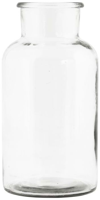 På billedet ser du variationen Jar, Vase fra brandet House Doctor i en størrelse D: 8 cm. x H: 16,5 cm. i farven Klar