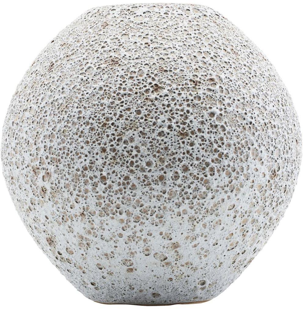 På billedet ser du variationen Less, Vase fra brandet House Doctor i en størrelse D: 21 cm. x H: 21 cm. i farven Lysegrå