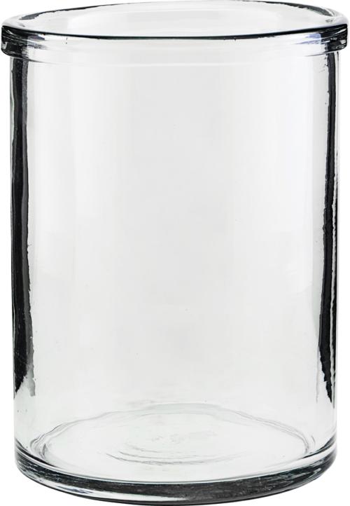 På billedet ser du variationen Vase, Reem fra brandet House Doctor i en størrelse D: 15 cm. H: 20 cm. i farven Glas
