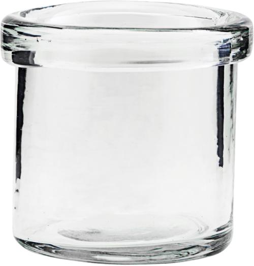 På billedet ser du variationen Vase, Reem fra brandet House Doctor i en størrelse D: 7 cm. H: 7 cm. i farven Glas
