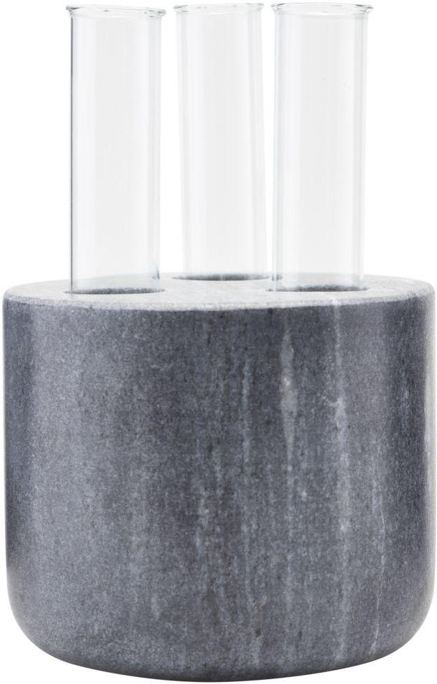 På billedet ser du variationen Vase, The Tube fra brandet House Doctor i en størrelse D: 12 cm. i farven Sort