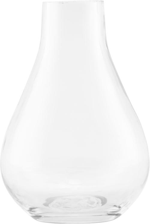 På billedet ser du variationen Vase, Vasera fra brandet House Doctor i en størrelse D: 7 cm. H: 11 cm. i farven Klar