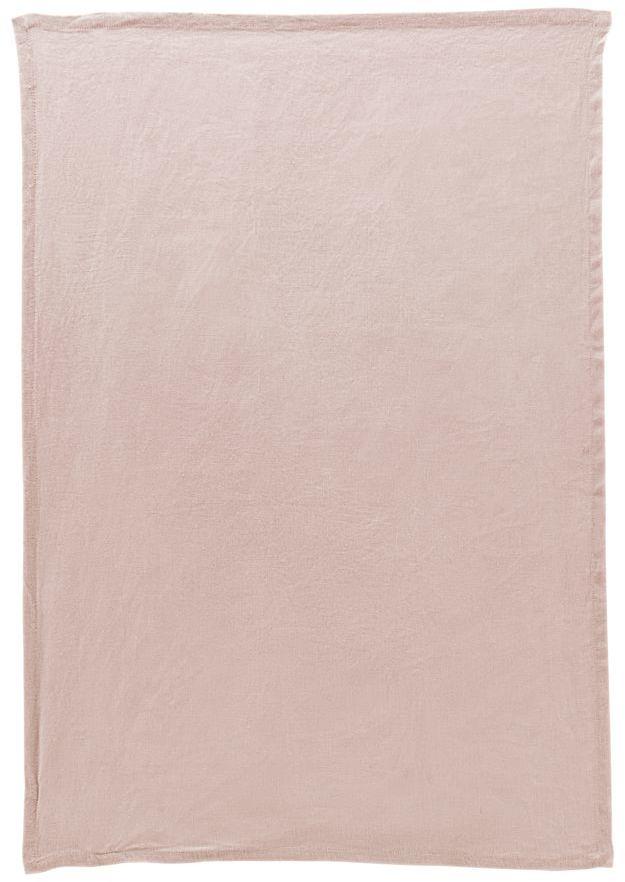 På billedet ser du variationen Viskestykke, By fra brandet House Doctor i en størrelse B: 50 cm. L: 70 cm. i farven Nude