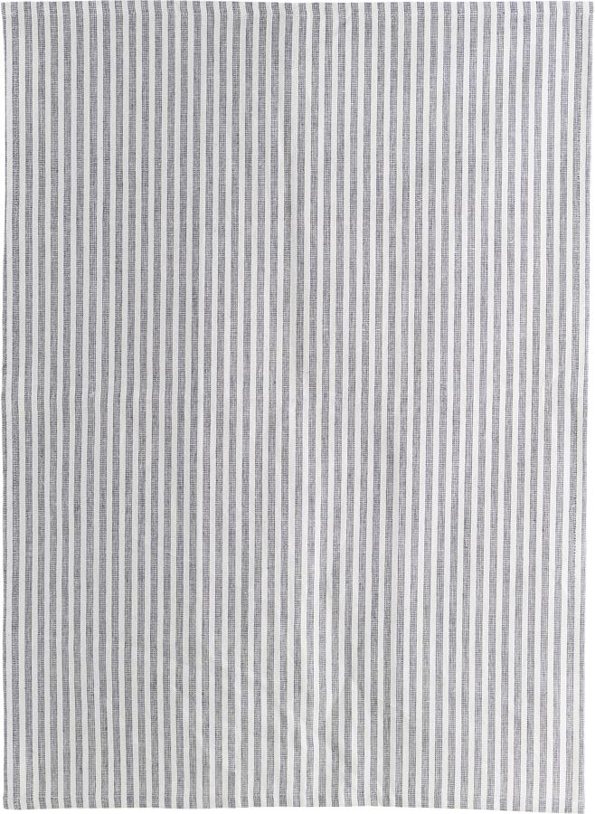 På billedet ser du variationen Viskestykke, Polly fra brandet House Doctor i en størrelse B: 50 cm. L: 70 cm. i farven Hvid/Grå