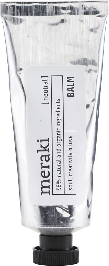 På billedet ser du variationen Balm, 98% organic, 50 ml. fra brandet Meraki i en størrelse 50 ML. i farven Sølv