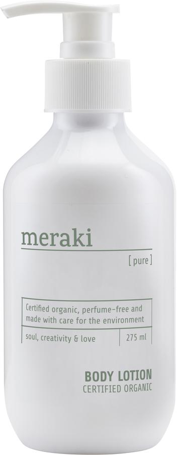 På billedet ser du variationen Body lotion, Pure fra brandet Meraki i en størrelse 275 ML./9.3 FL.OZ i farven Hvid