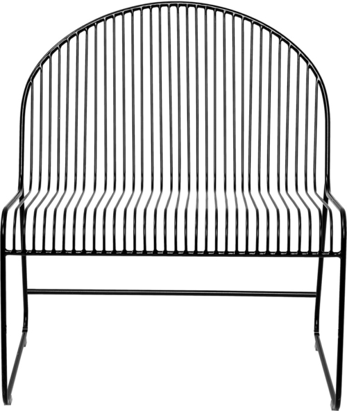 På billedet ser du variationen Loungestol, Friend fra brandet Bloomingville i en størrelse H: 80 cm. B: 62 5 cm. L: 72 cm.