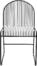 På billedet ser du variationen Spisebordsstol, Friend fra brandet Bloomingville i en størrelse H: 81 cm. B: 51 cm. L: 47 cm.