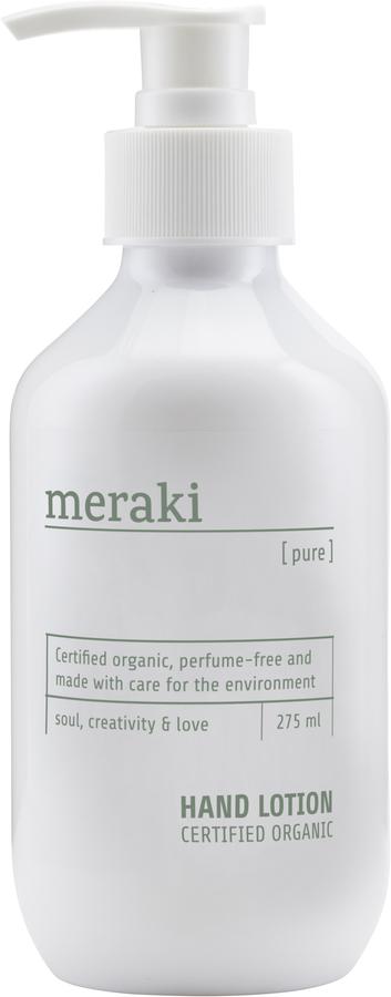 På billedet ser du variationen Hånd lotion, Pure fra brandet Meraki i en størrelse 275 ML. i farven Hvid