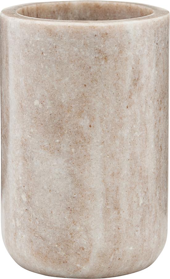 På billedet ser du variationen Tandbørsteholder, Krus, Beige fra brandet Meraki i en størrelse Ø: 8 cm. H: 12 cm. i farven Beige