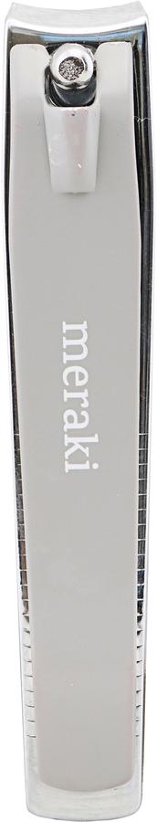 På billedet ser du variationen Negleklipper, Grå fra brandet Meraki i en størrelse L: 8 cm. i farven Grå