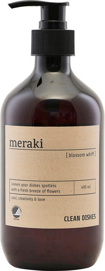 På billedet ser du variationen Opvaskemiddel, Blossom whiff fra brandet Meraki i en størrelse Ø: 7 cm. H: 19 cm. i farven Sort