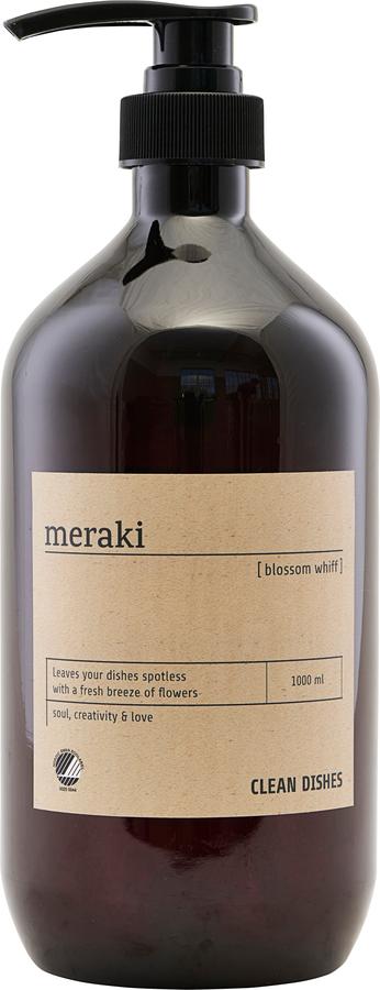 På billedet ser du variationen Opvaskemiddel, Blossom whiff fra brandet Meraki i en størrelse Ø: 8,5 cm. H: 24,4 cm. i farven Sort