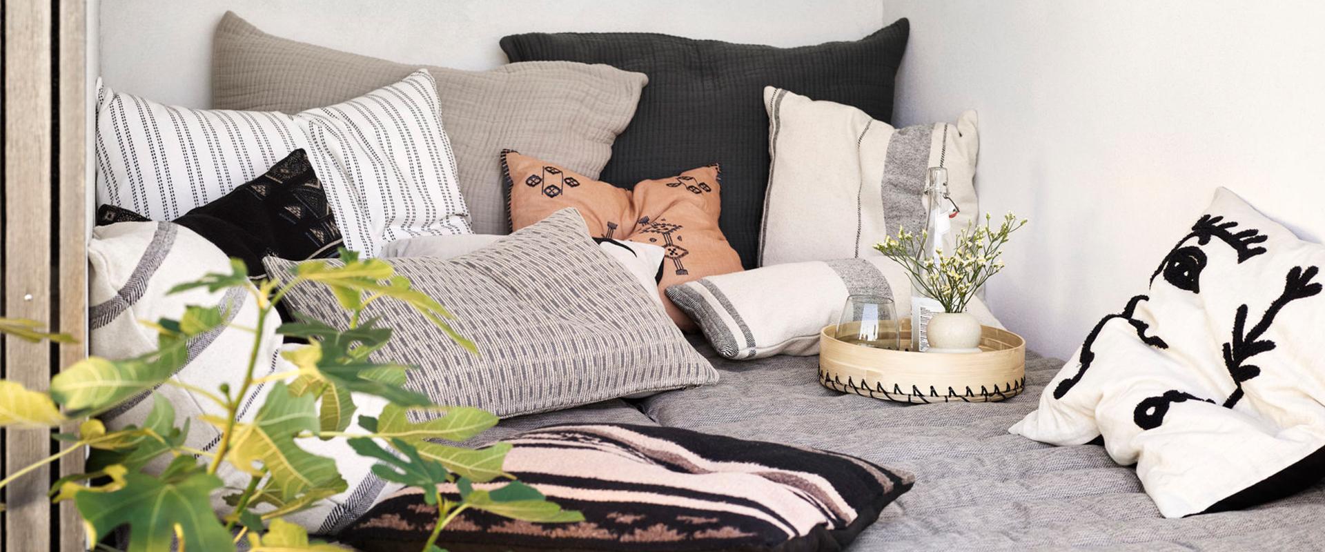 Pyntepuder til sofaen eller lænestolen